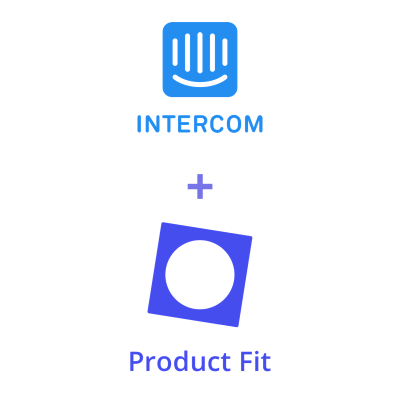 Intercom Product Fit integration